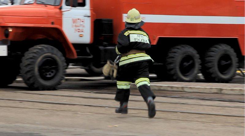 Вовремя пожара изуфимской многоэтажки эвакуированы восемь жильцов