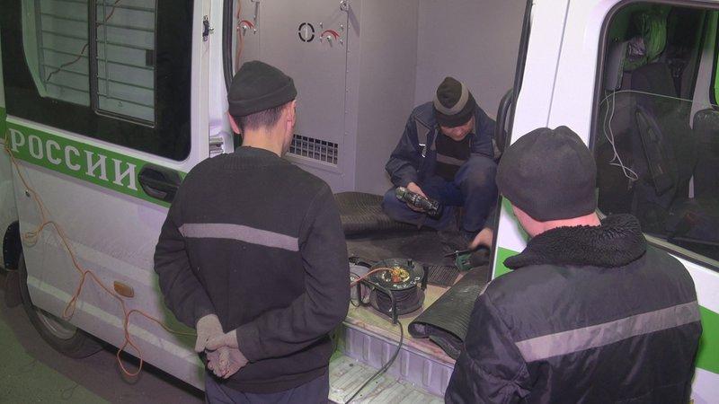Башкирские автозаки будут перевозить осуждённых поострову Свободы