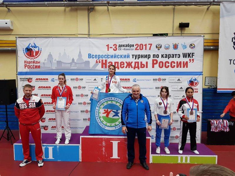 Две медали завоевали тверские каратисты навсероссийском турнире в северной столице