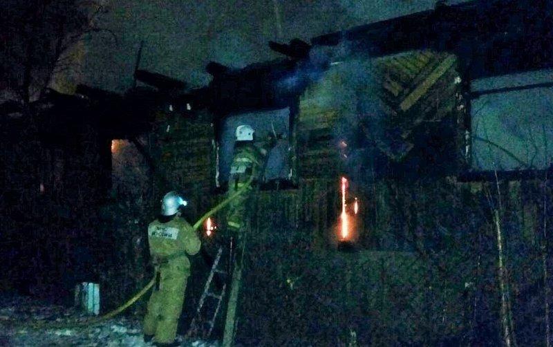 58-летний мужчина умер впожаре на русской вУфе