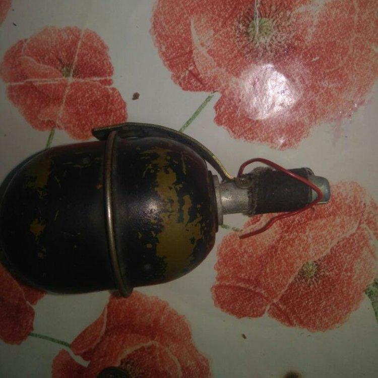 Жительница Башкирии отыскала  всугробе гранату