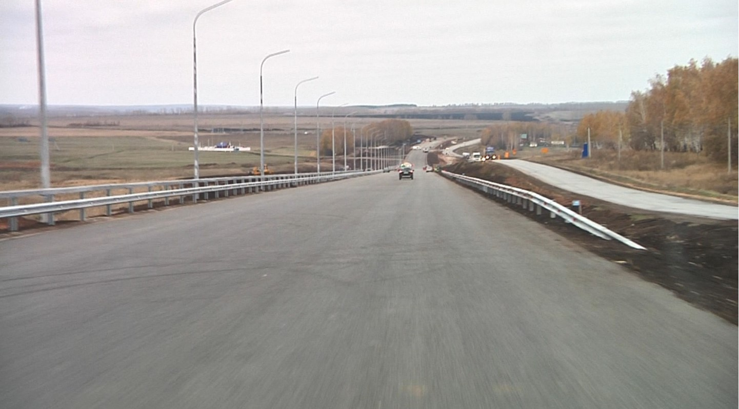 ВБашкирии поменяется движение транспорта натрассе Уфа— Оренбург