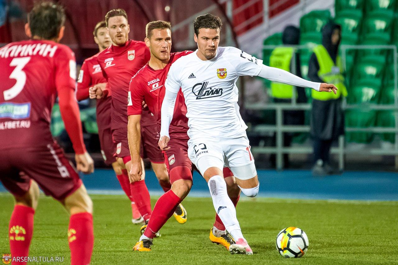 «Арсенал» обыграл «Уфу» вматче чемпионата РФ благодаря дублю Горбатенко