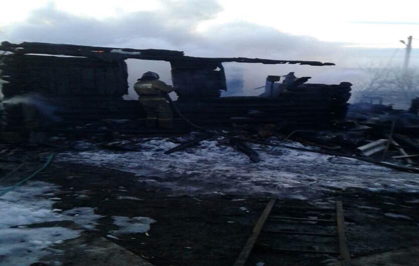 ВБашкирии впожаре в личном доме погибли два человека