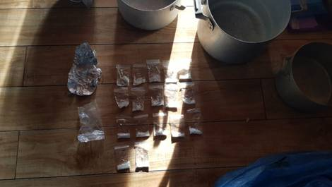 Под Уфой гражданин Ульяновской области производил наркотики вкоттедже