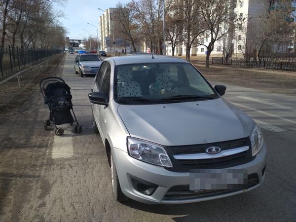 ВБашкирии Лада сбила годовалую девочку